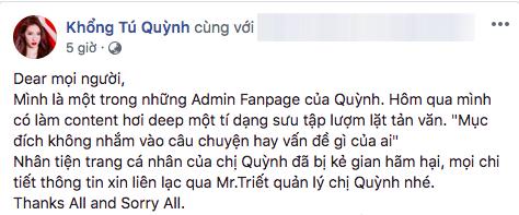 Sự thật sau chia sẻ ẩn ý của Khổng You Quỳnh về chuyện đã buông tay Ngô Kiến Huy - Ảnh 2.