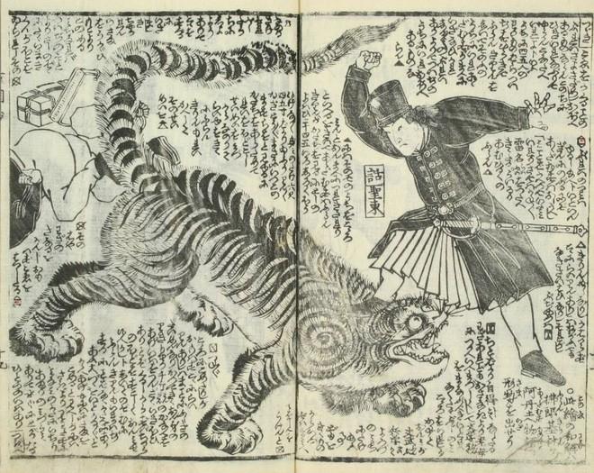 Loạt tranh minh họa hé lộ cách người Nhật thời Edo nhìn nhận thế giới phương Tây - Ảnh 2.