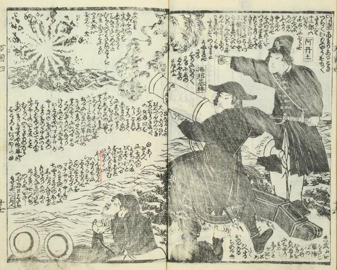 Loạt tranh minh họa hé lộ cách người Nhật thời Edo nhìn nhận thế giới phương Tây - Ảnh 4.