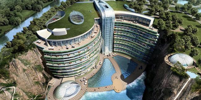 Khai trương khách sạn dưới lòng đất đầu tiên trên thế giới - Ảnh 8.