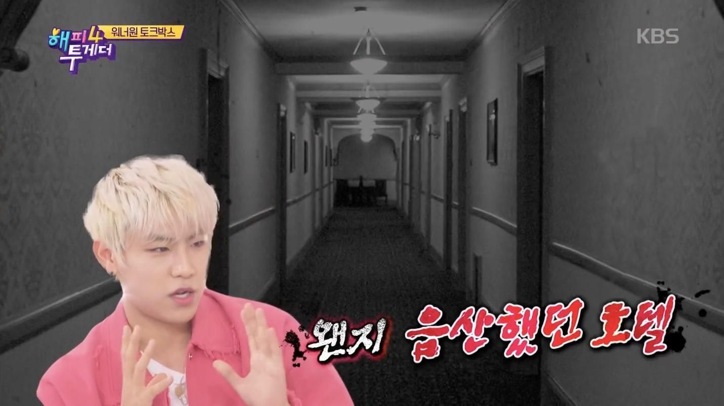 Wanna One kể về trải nghiệm rùng rợn tại khách sạn gần nghĩa trang nhưng Kang Daniel lại gây cười vì... - Ảnh 2.