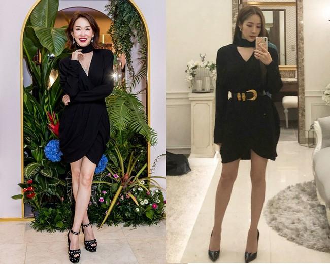 Đẳng cấp đại mỹ nhân của Phạm Văn Phương: Đụng váy với Park Min Young kém tận 15 tuổi nhưng không hề lép vế - Ảnh 3.