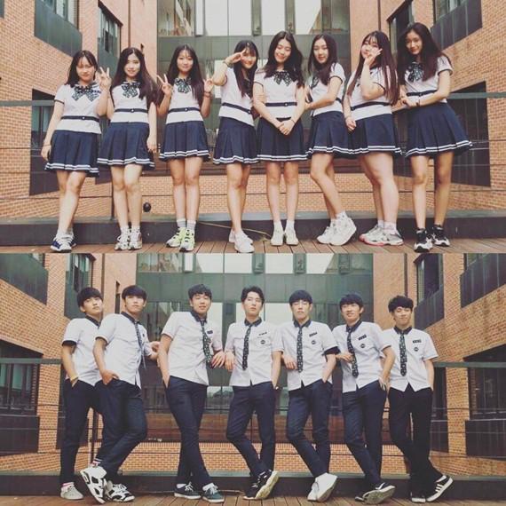 Soi đồng phục của học sinh Hàn: Trường gây choáng về giá tiền đắt đỏ, trường dẫn đầu vì sang chảnh như hoàng gia - Ảnh 7.