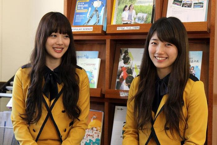 Soi đồng phục của học sinh Hàn: Trường gây choáng về giá tiền đắt đỏ, trường dẫn đầu vì sang chảnh như hoàng gia - Ảnh 8.
