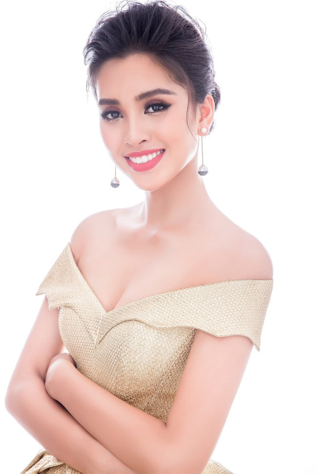 Little Vy brings a series of Miss World 2018 evening wires to show 10 beautiful beauty - Picture 9.