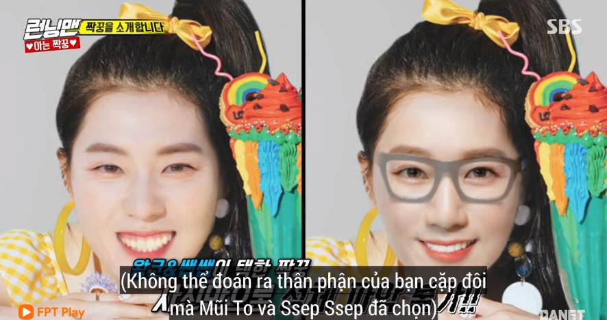Irene (Red Velvet) hoảng hốt bỏ chạy khi thấy phiên bản... có râu của mình tại Running Man - Ảnh 2.