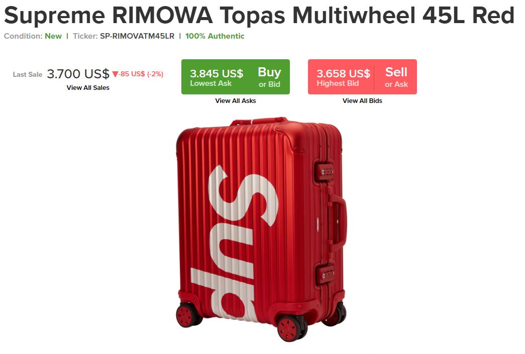 Clip: Hàng trăm chiếc vali Supreme x Rimowa đắt đỏ hiếm có xuất hiện cùng một lúc ở sân bay Trung Quốc - Ảnh 1.
