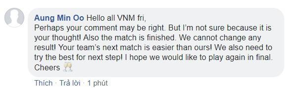Bạn bè quốc tế khuyên fan Việt chấp nhận kết quả, ngừng lên mạng chửi bới trọng tài - Ảnh 3.