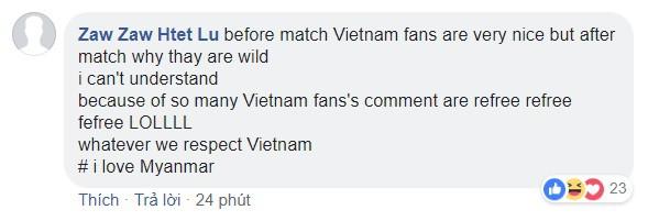 Bạn bè quốc tế khuyên fan Việt chấp nhận kết quả, ngừng lên mạng chửi bới trọng tài - Ảnh 6.