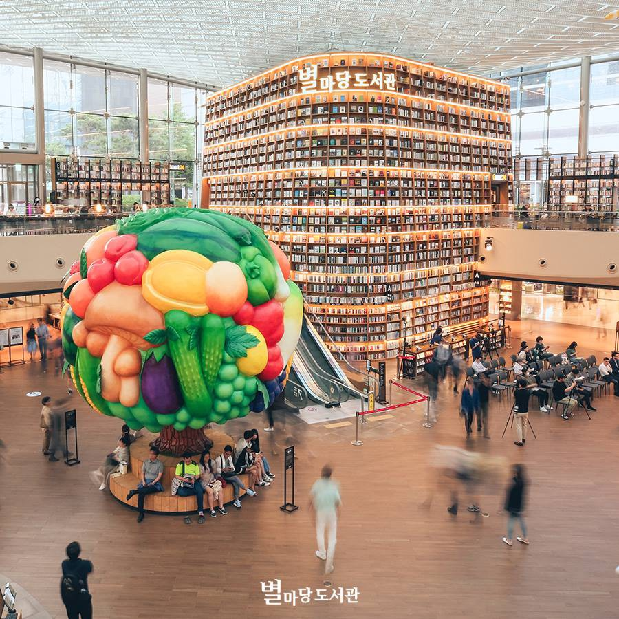 Thư viện khổng lồ nằm ở tận Seoul nhưng bạn trẻ Việt Nam nào đến đây cũng phải check-in cho bằng được! - Ảnh 3.