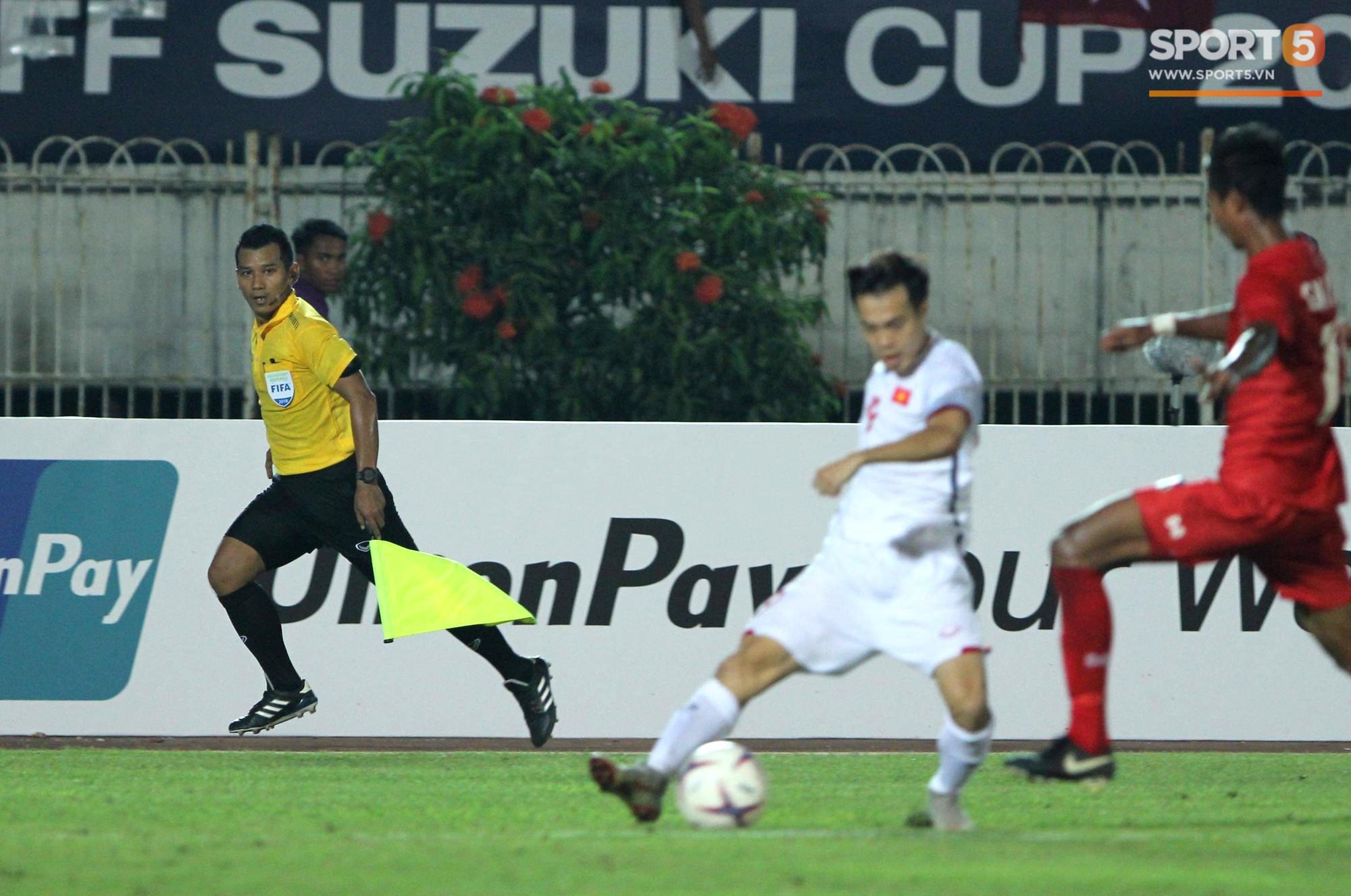 Trọng tài Thái Lan cướp bàn thắng của Việt Nam trước Myanmar - Ảnh 2.