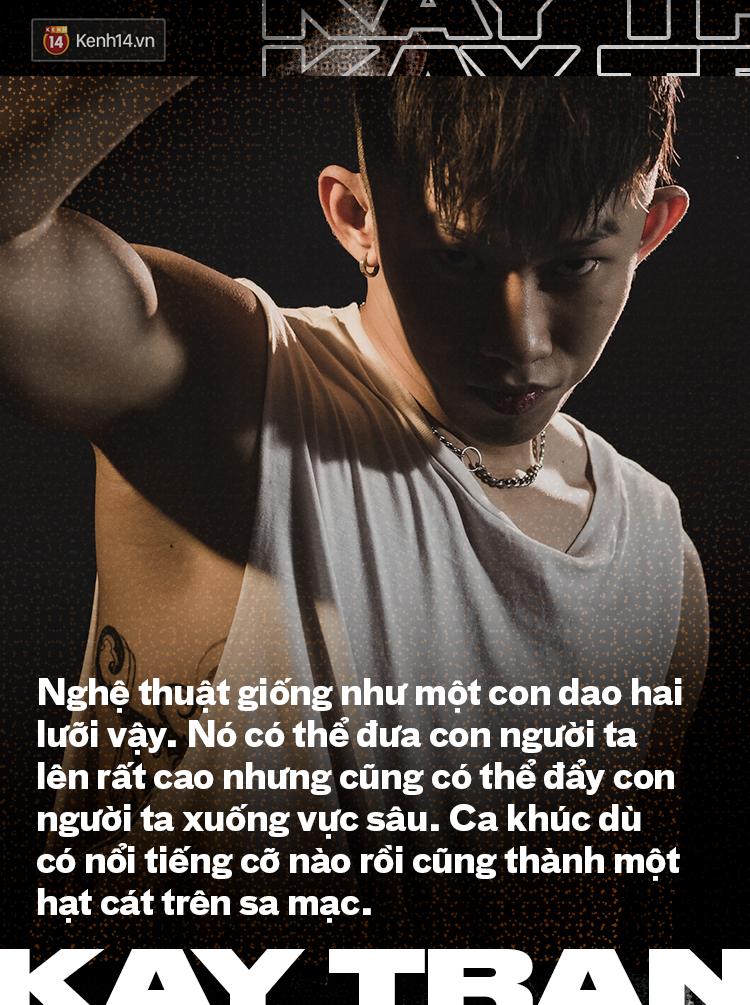 Kay Trần: Tôi không cố tình bắt chước Jay Park, bản thân tôi cũng không thích điều đó - Ảnh 7.