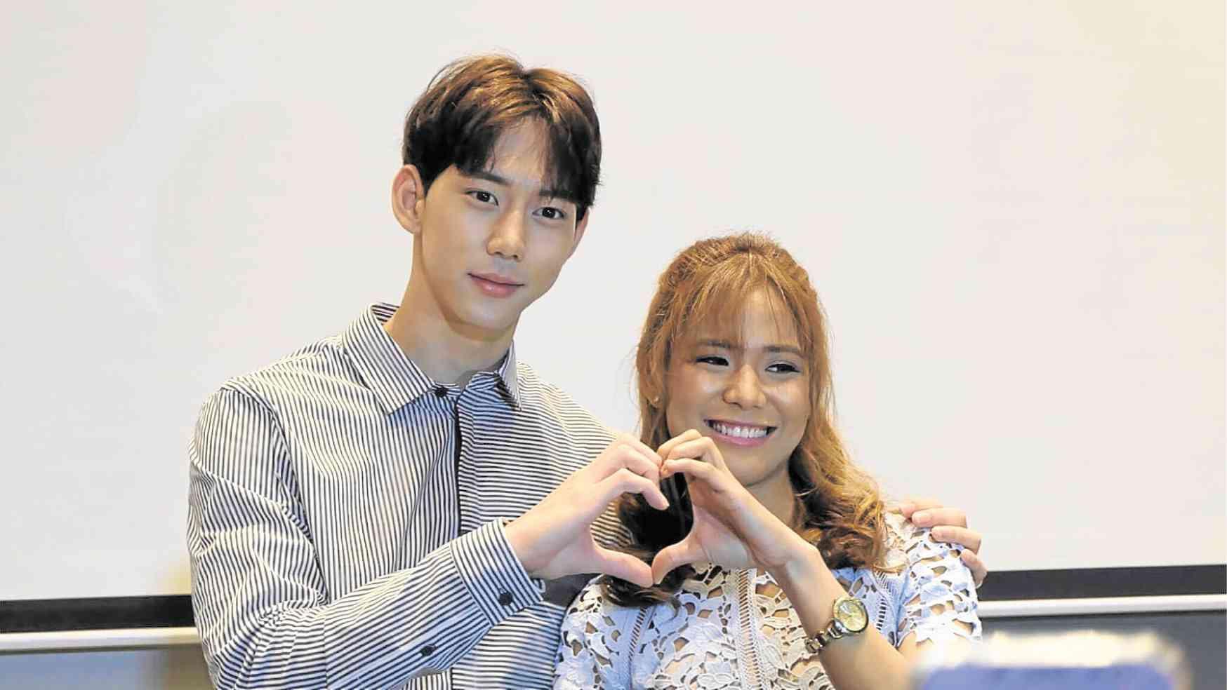 Bạn trai Chi Pu Jin Ju Hyung từng tán tỉnh mỹ nhân Philippines- Ảnh 1.