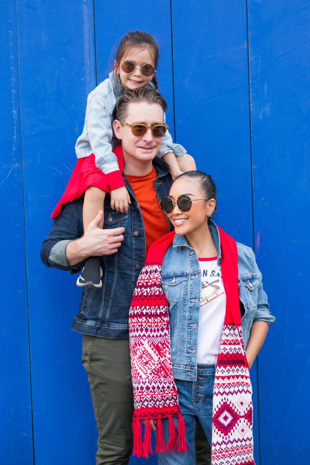 """Con gái Đoan Trang mới 4 tuổi đã ra dáng fashionista nhí, cùng bố mẹ thực hiện bộ ảnh mới cực """"chất"""" - Ảnh 9."""