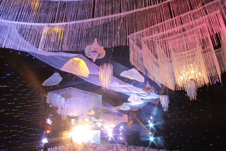 Hé lộ chi phí dựng rạp thực tế cùng hình ảnh cô dâu đeo vàng nặng trĩu trong đám cưới khủng ở Cao Bằng - Ảnh 5.