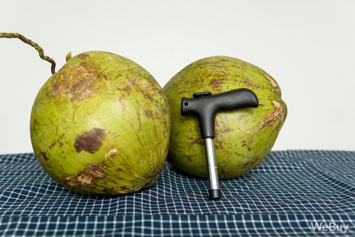 Hội chân yếu tay mềm muốn tự khui dừa, bèn đi mua dụng cụ chuyên dụng và cái kết đắng - Ảnh 1.