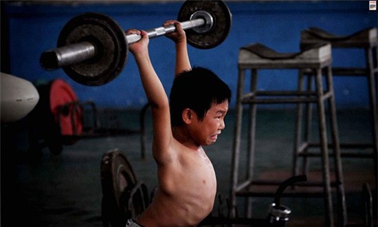 Inside the hard sports training classes in China - Picture 10.