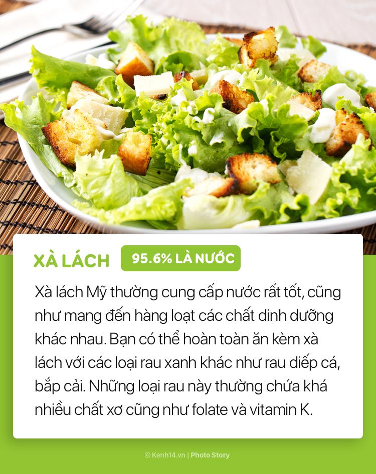 Hãy bổ sung những thực phẩm này vào bữa ăn để cơ thể luôn được cung cấp đủ nước - Ảnh 3.