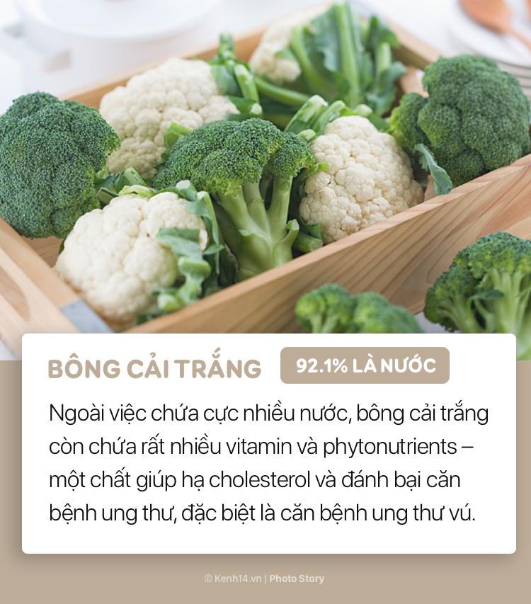 Hãy bổ sung những thực phẩm này vào bữa ăn để cơ thể luôn được cung cấp đủ nước - Ảnh 9.