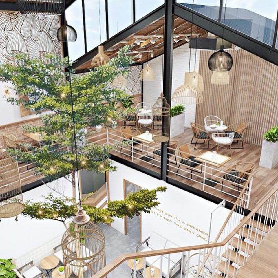 Những quán cà phê và khu tổ hợp xinh xắn khiến bạn muốn bất chấp book vé đi Đà Nẵng ngay - Ảnh 11.