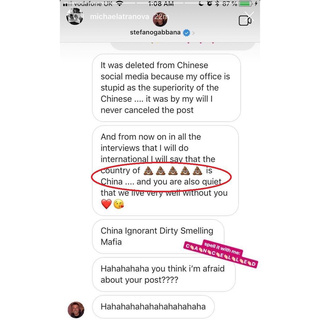 Cô gái gốc Việt được dân mạng Trung Quốc tung hô sau khi bóc phốt tin nhắn của NTK Dolce & Gabbana trên Instagram - Ảnh 3.