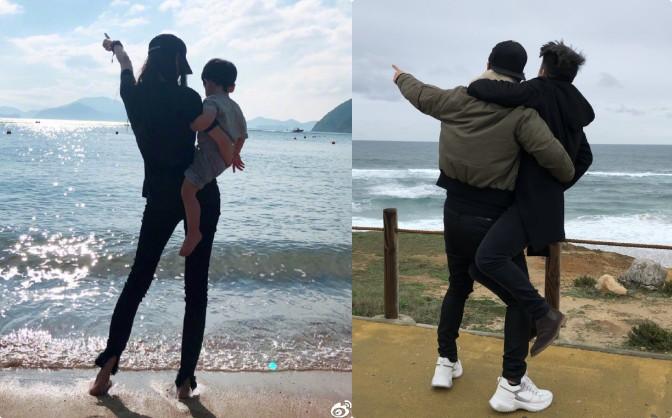 Khẳng định vẫn yêu nhau, Huỳnh Hiểu Minh tiếp tục thể hiện tình cảm siêu ngọt ngào với Angela Baby