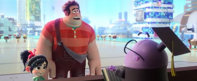Ralph Internet breaks Easter Egg (end) - Picture 14.