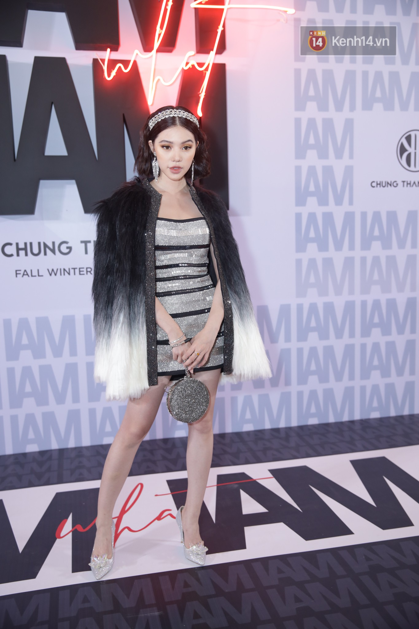The red carpet Chung Thanh Phong show: it was able to test strange styles, as Quỳnh Anh Shyn caught birds with rain - Photo 4.