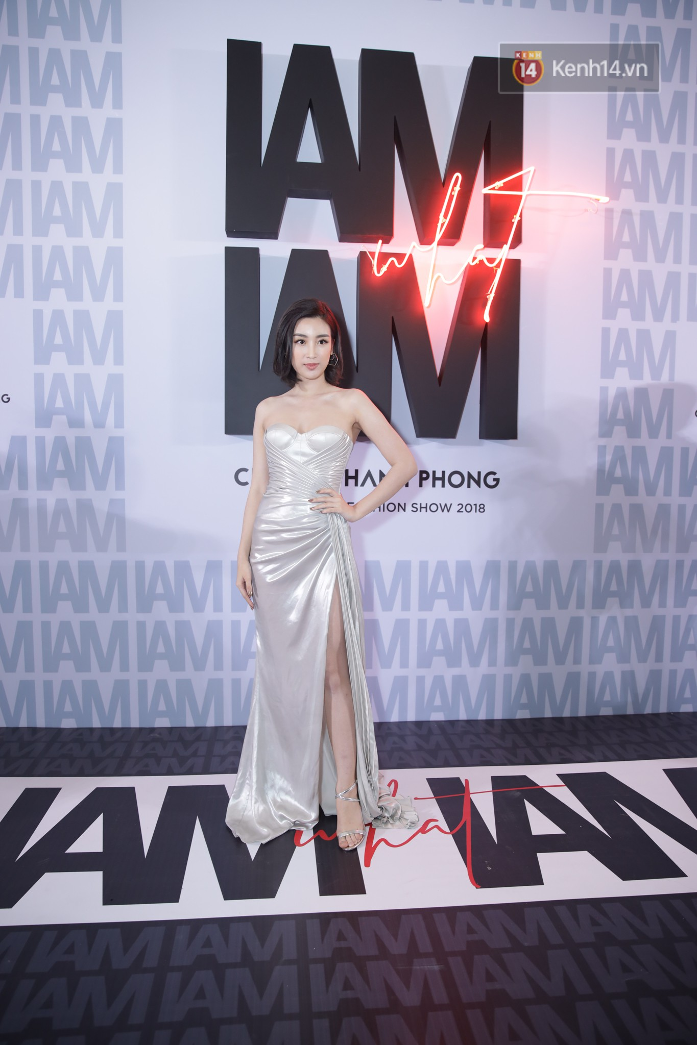 Red carpet Chung Thanh Phong show: It was able to try out strange jewelry, Quỳnh Anh Shyn caught it like a spider with rain - Photo 15.