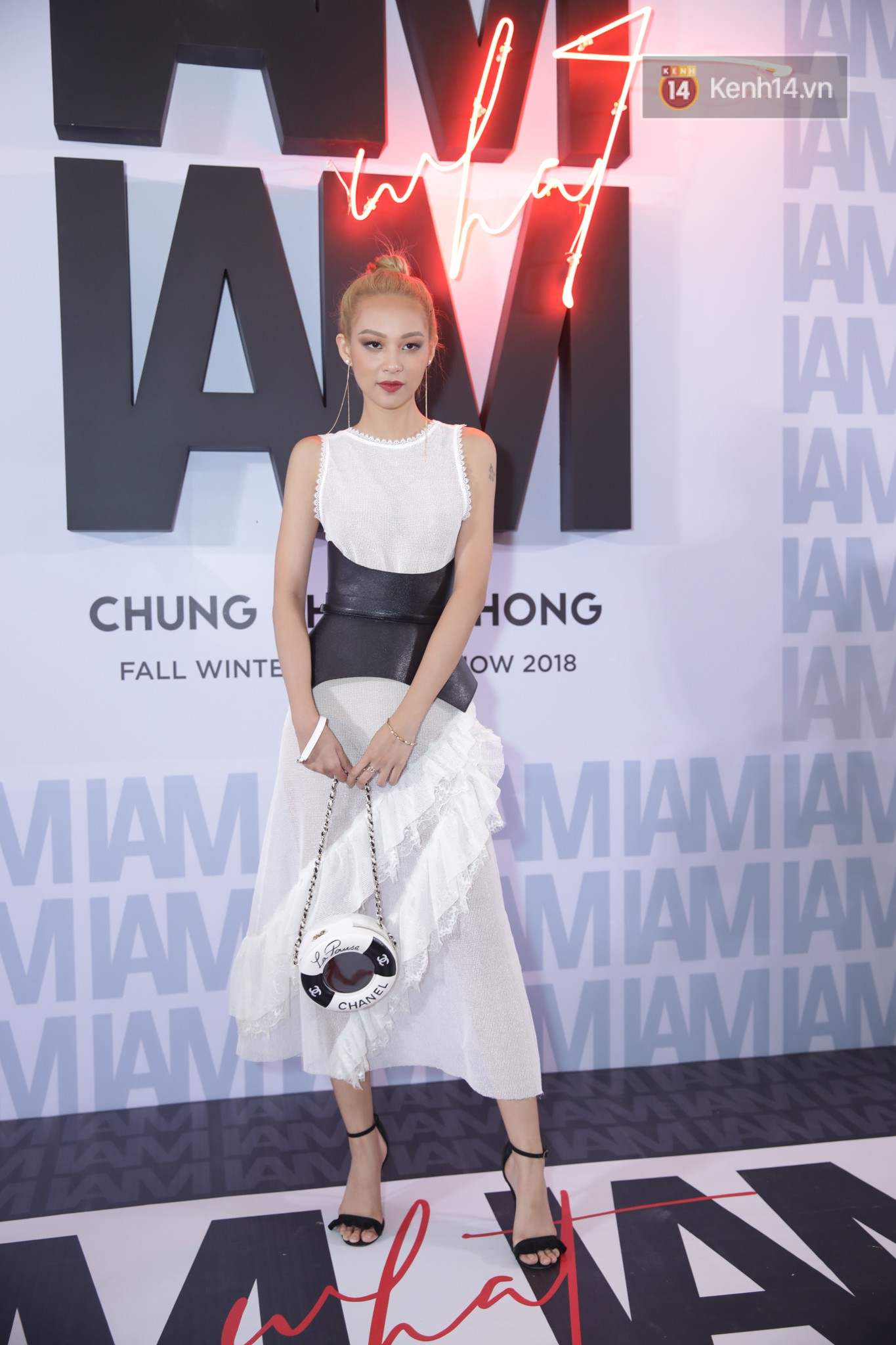 The red carpet Chung Thanh Phong show: it was able to try out strange jewelry, Quỳnh Anh Shyn caught rain like spiders - a picture 18.
