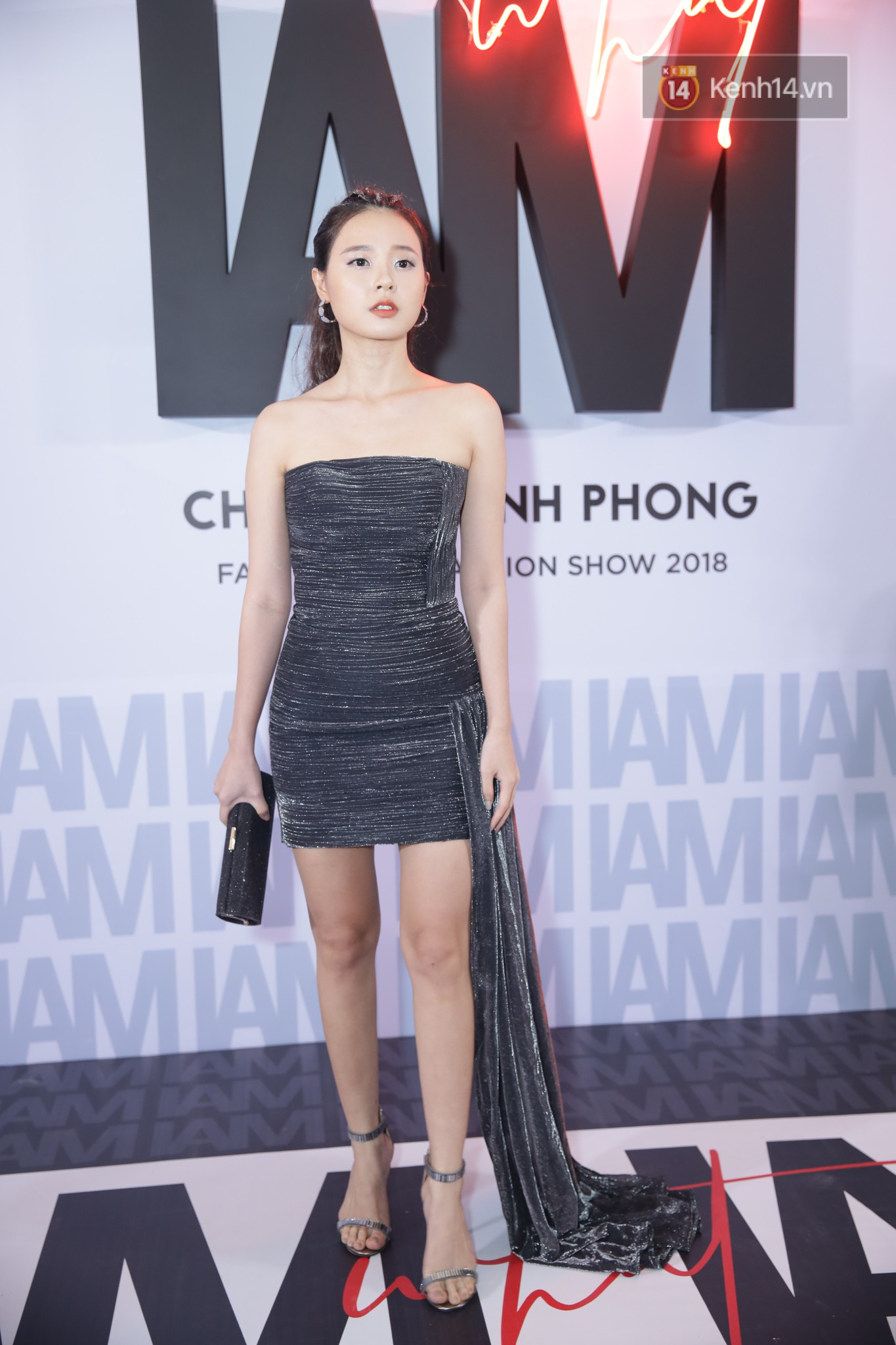 Red carpet Chung Thanh Phong show: Able for strange style, Quỳnh Anh Shyn crawled spiders with rain - Photo 23.