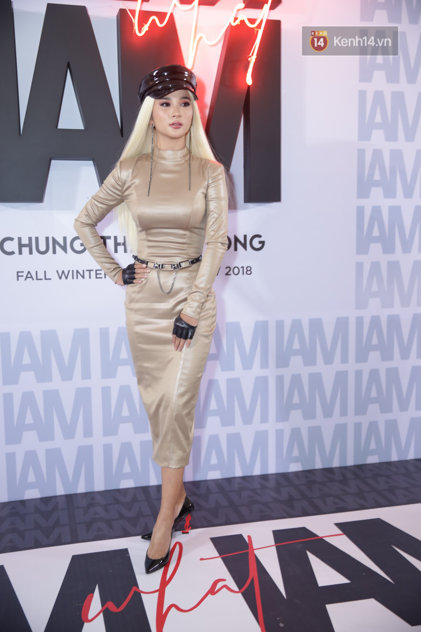 The red carpet Chung Thanh Phong show: it was able to test strange styles, as Quỳnh Anh Shyn caught the bird with rain - Photo 16.