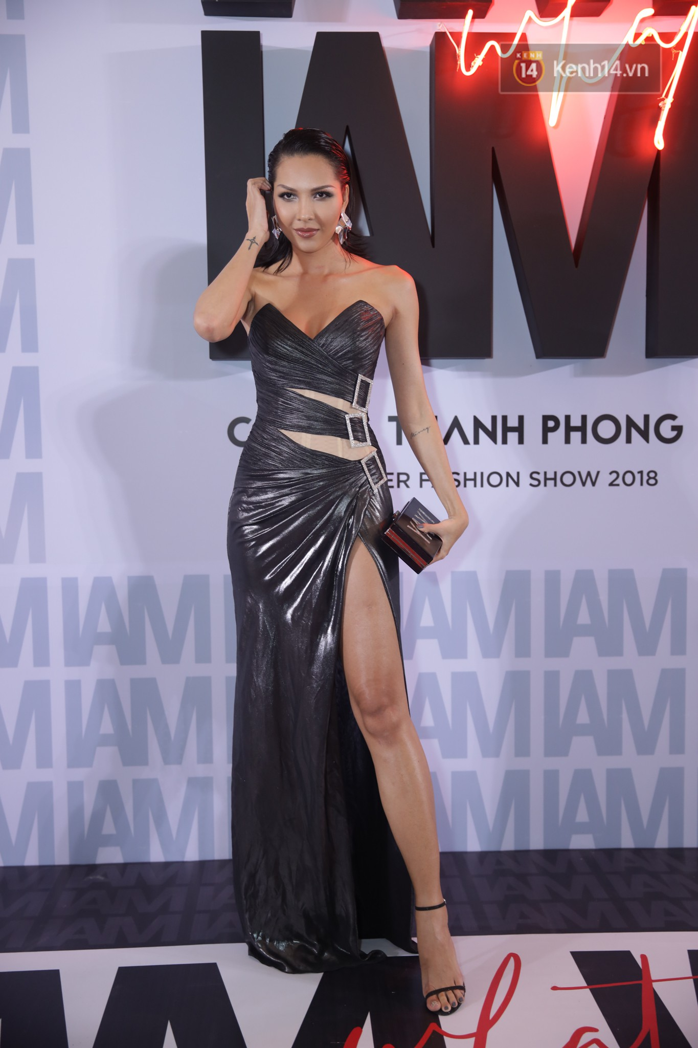 The red carpet Chung Thanh Phong show: It was able to test strange styles, as Quỳnh Anh Shyn caught birds with rain - Photo 20.