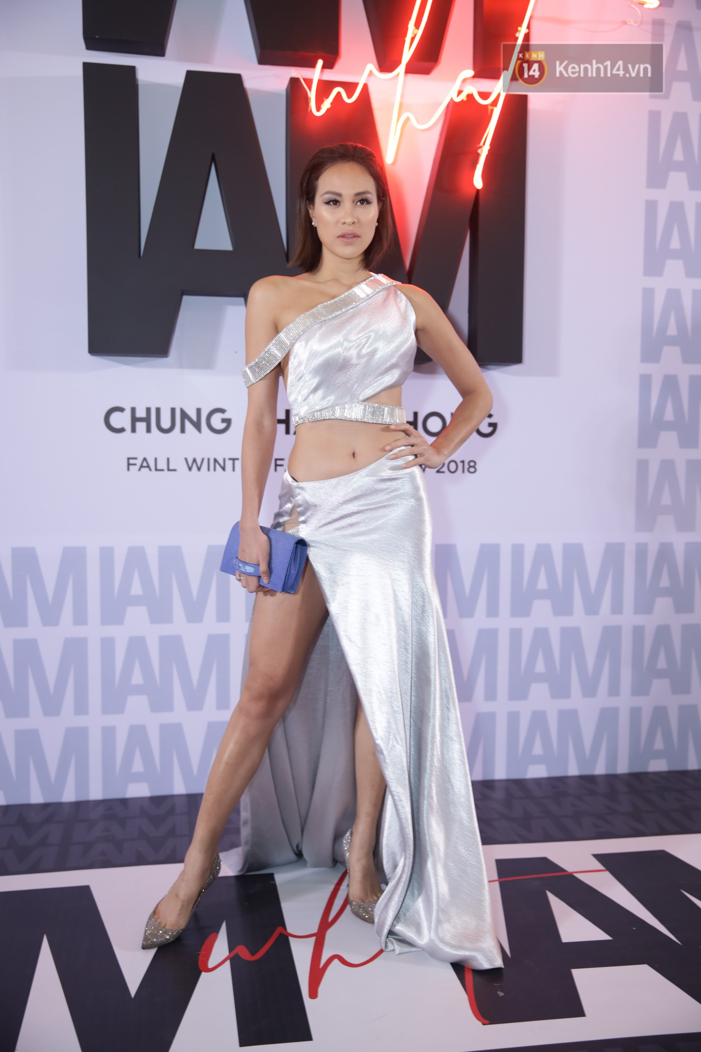 The red carpet Chung Thanh Phong show: it was able to test strange styles, Quỳnh Anh Shyn caught the spiders with rain - Photo 28.