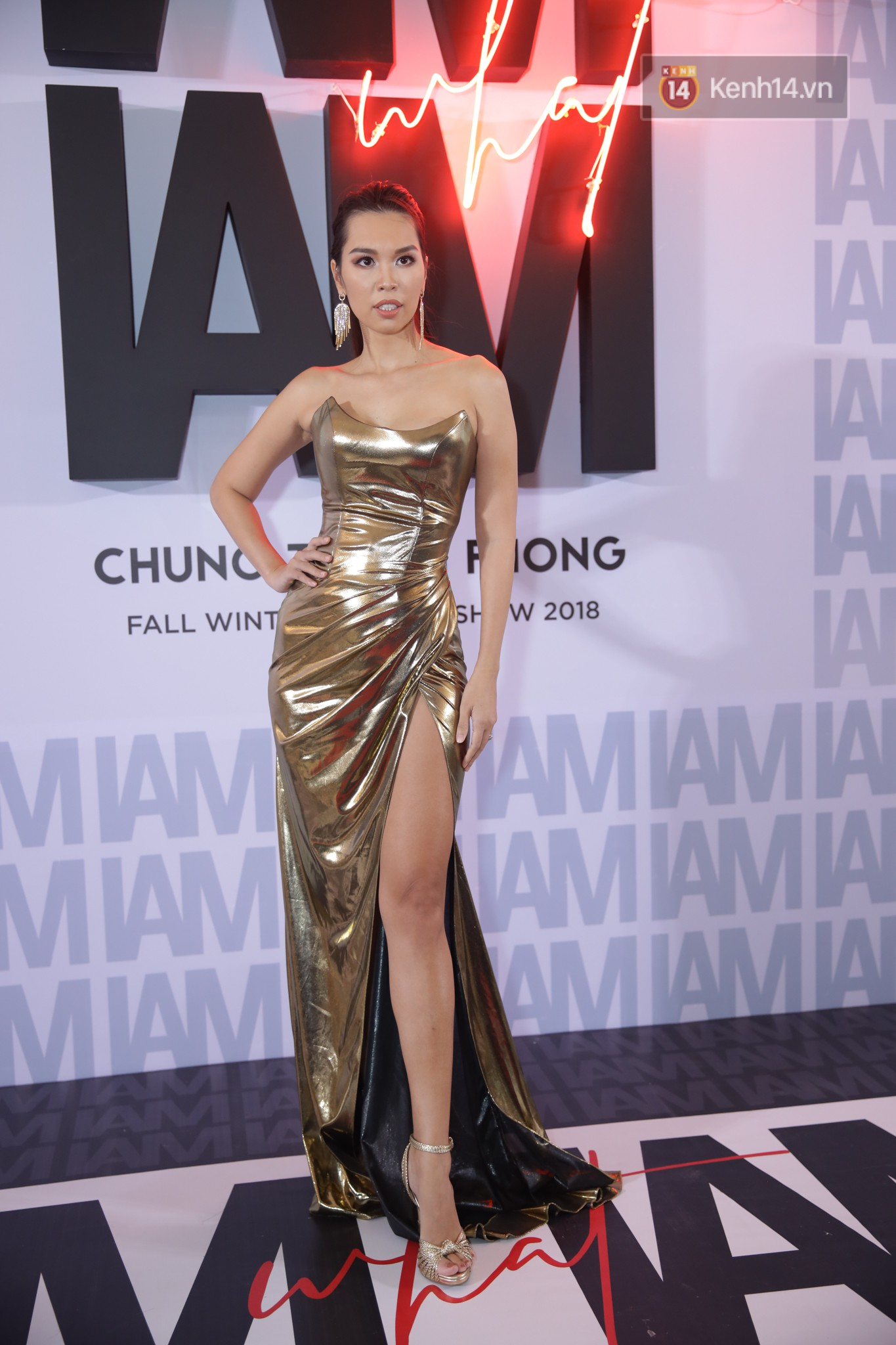 The red carpet Chung Thanh Phong show: it was able to test curiously, as Quỳnh Anh Shyn caught birds with rain - Photo 21.