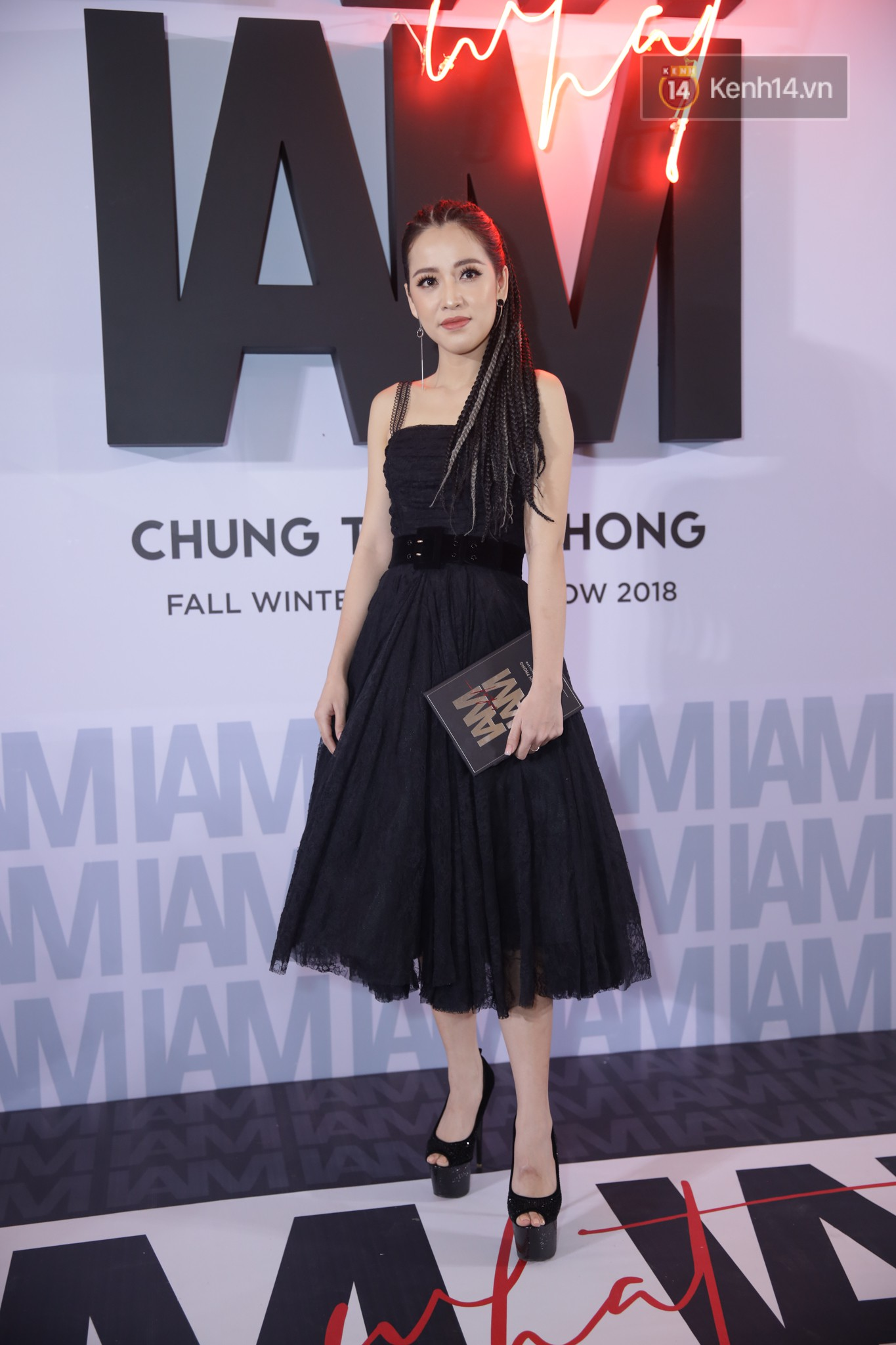The red carpet Chung Thanh Phong show: it was able to test strange styles, Quỳnh Anh Shyn caught the spiders with rain - Photo 10.