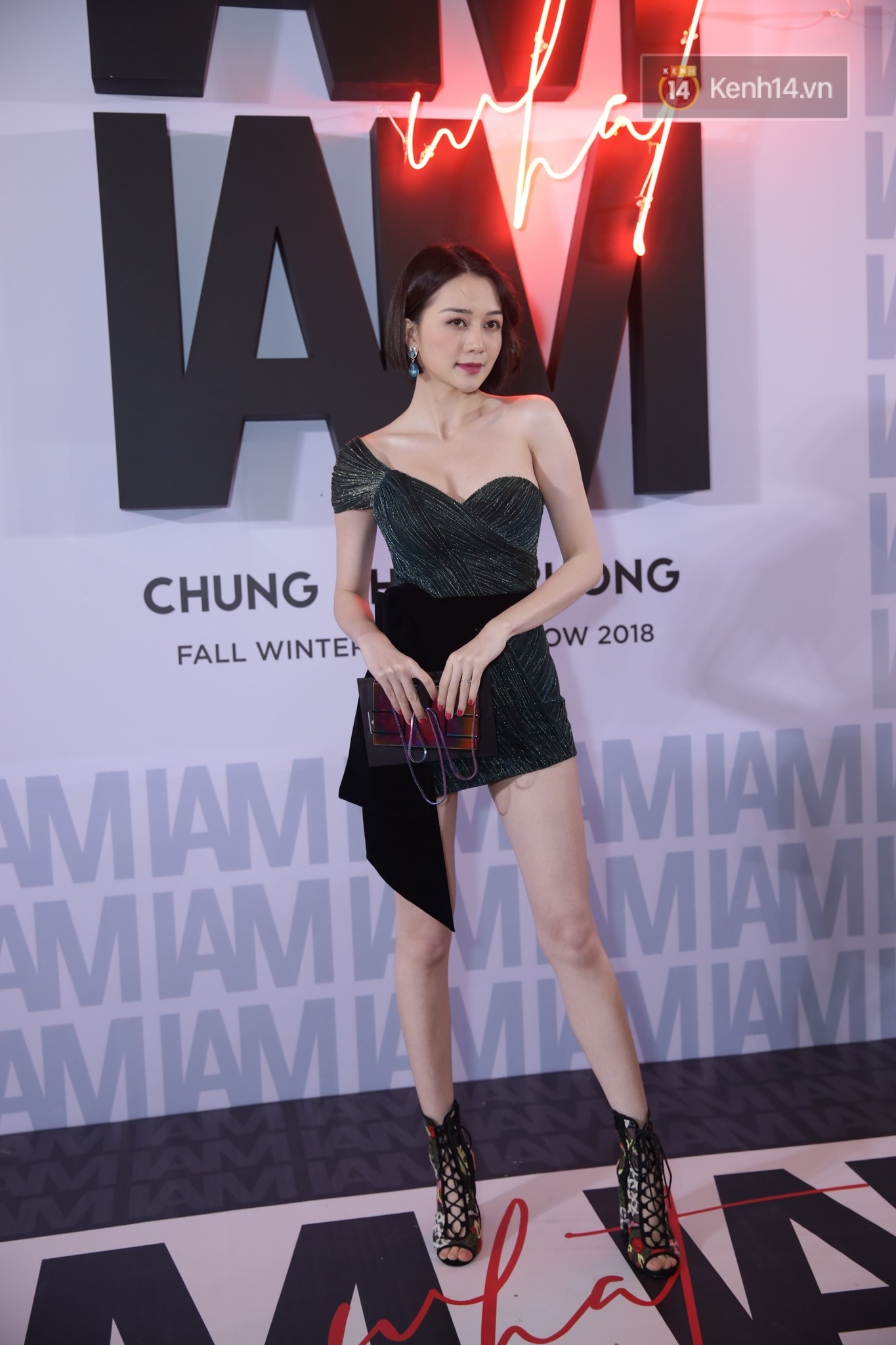 Red carpet Chung Thanh Phong show: It was able to try out strange jewelry, Quỳnh Anh Shyn caught rain like spiders - Photo 32.