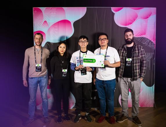 Sinh viên Việt Nam lần đầu tiên giành chiến thắng tại cuộc thi lập trình công nghệ lớn nhất Châu Âu - Ảnh 1.