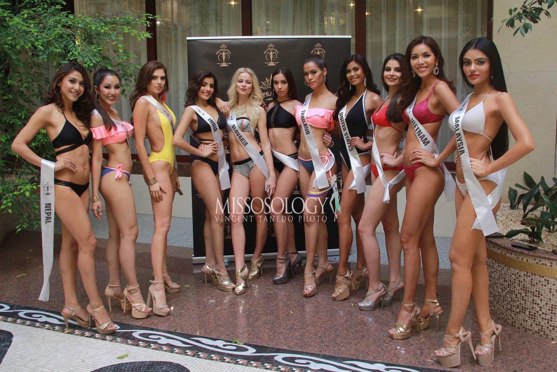 Minh Tu bikini show 0% body fat allowed remember the image of childhood Pham Huong - Photo 6.