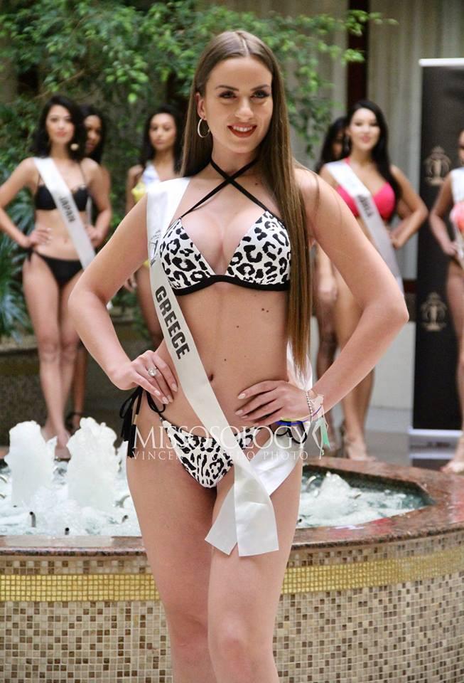 Minh Tú đọ dáng gợi cảm cùng dàn người đẹp Miss Supranational 2018 trong phần thi áo tắm - Ảnh 12.