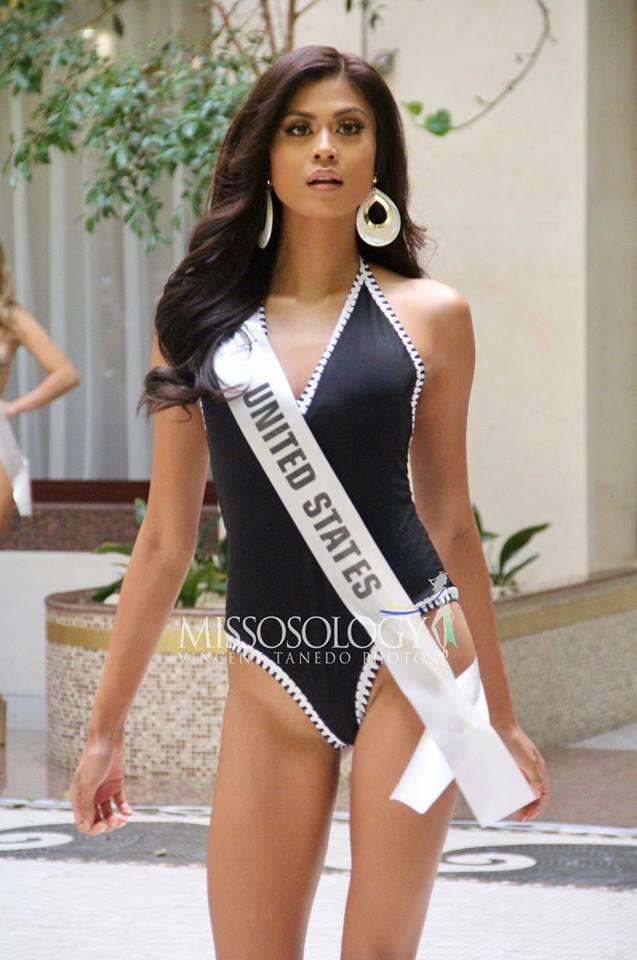 Minh Tú đọ dáng gợi cảm cùng dàn người đẹp Miss Supranational 2018 trong phần thi áo tắm - Ảnh 14.