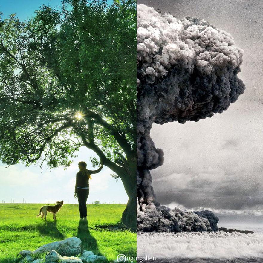 Rơi nước mắt với loạt ảnh cuộc sống tương phản của những vùng đất trên thế giới: Bên này bình yên, bên kia giông bão - Ảnh 15.