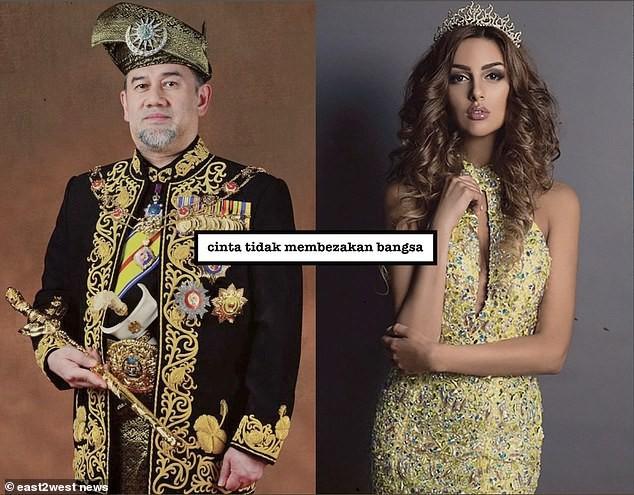 Cựu hoa hậu Nga làm đám cưới với quốc vương Malaysia, chia sẻ rằng đàn ông không được kiếm ít tiền hơn phụ nữ - Ảnh 3.