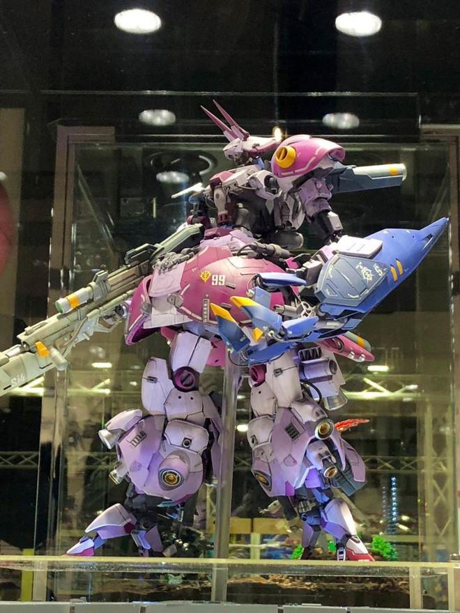 Mê mẩn với loạt gundam đẹp nhất Nhật Bản, đại diện Xứ sở hoa Anh đào tại Gunpla Builders World Cup 2018 - Ảnh 3.