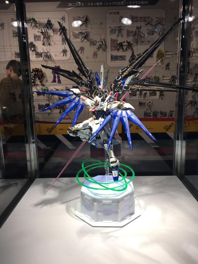 Mê mẩn với loạt gundam đẹp nhất Nhật Bản, đại diện Xứ sở hoa Anh đào tại Gunpla Builders World Cup 2018 - Ảnh 6.