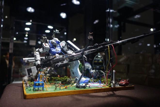 Mê mẩn với loạt gundam đẹp nhất Nhật Bản, đại diện Xứ sở hoa Anh đào tại Gunpla Builders World Cup 2018 - Ảnh 7.