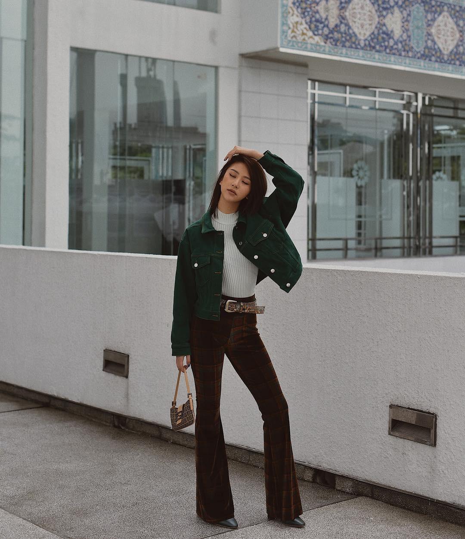 Muốn mặc đâu chuẩn đấy trong tiết trời se lạnh, bạn chỉ việc copy 10 công thức street style xuất sắc này từ loạt hot girl Việt - Ảnh 6.