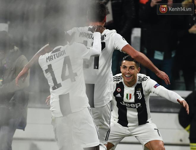 Vua đệm bóng Ronaldo biến thành vua dọn cỗ giúp Juventus ca khúc khải hoàn ở Champions League - Ảnh 4.