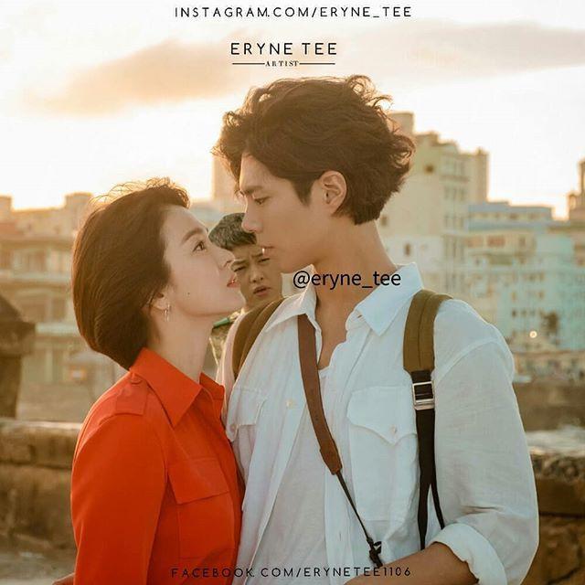Cười mệt với loạt ảnh chế của fan Song Song Couple sau khi xem tập 1 bom tấn Hàn Encounter - Ảnh 2.