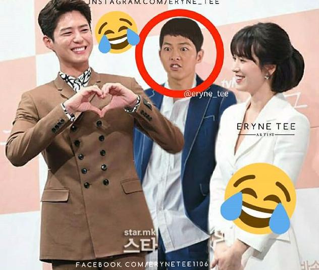 Cười mệt với loạt ảnh chế của fan Song Song Couple sau khi xem tập 1 bom tấn Hàn Encounter - Ảnh 5.